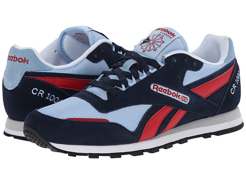 Reebok - CR 1000 TXT (Faux Indigo/Denim Glow/Flash Red/White/Black) Men