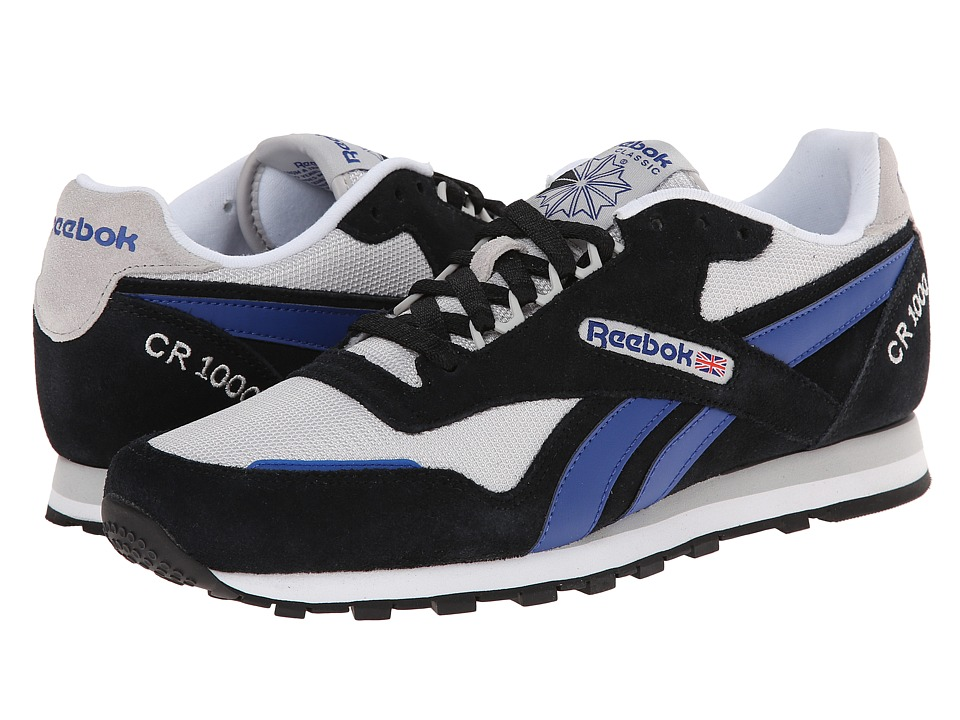 Reebok - CR 1000 TXT (Black/Steel/Team Dark Royal/White) Men's Shoes
