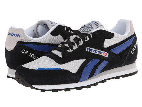 Reebok - CR 1000 TXT (Black/Steel/Team Dark Royal/White) Men