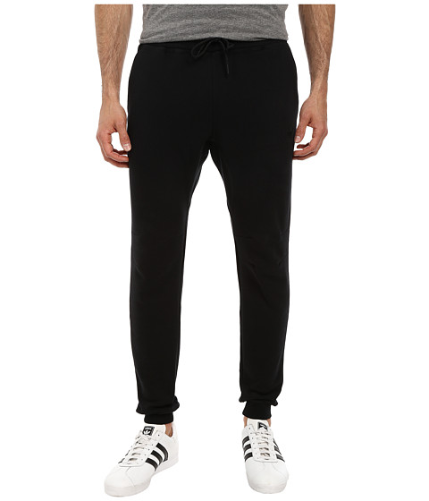 adidas Originals - Sport Luxe Cuff Fleece Pant (Black/Black) Men