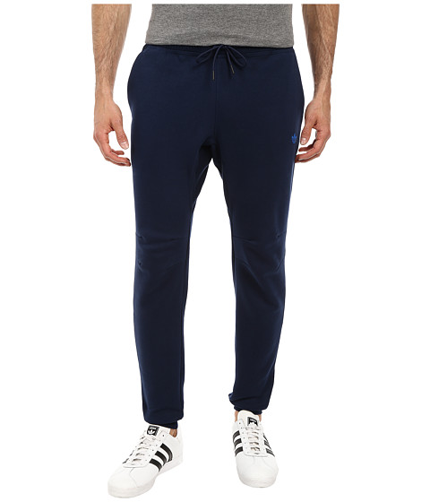 adidas Originals - Sport Luxe Cuff Fleece Pant (Collegiate Navy/Collegiate Navy) Men