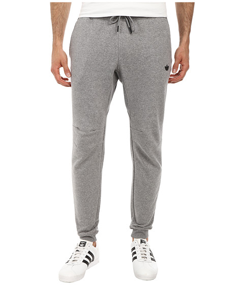 adidas Originals - Sport Luxe Cuff Fleece Pant (Core Heather/Core Heather) Men