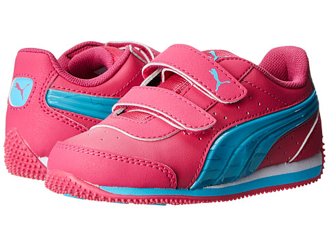 Puma Kids - Speed Light Up V (Toddler/Little Kid/Big Kid) (Beetroot Purple/Beetroot Purple/Blue Atoll) Girls Shoes