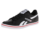 Reebok LC Court Vulc Low (Leather Black/White/Red Rush)