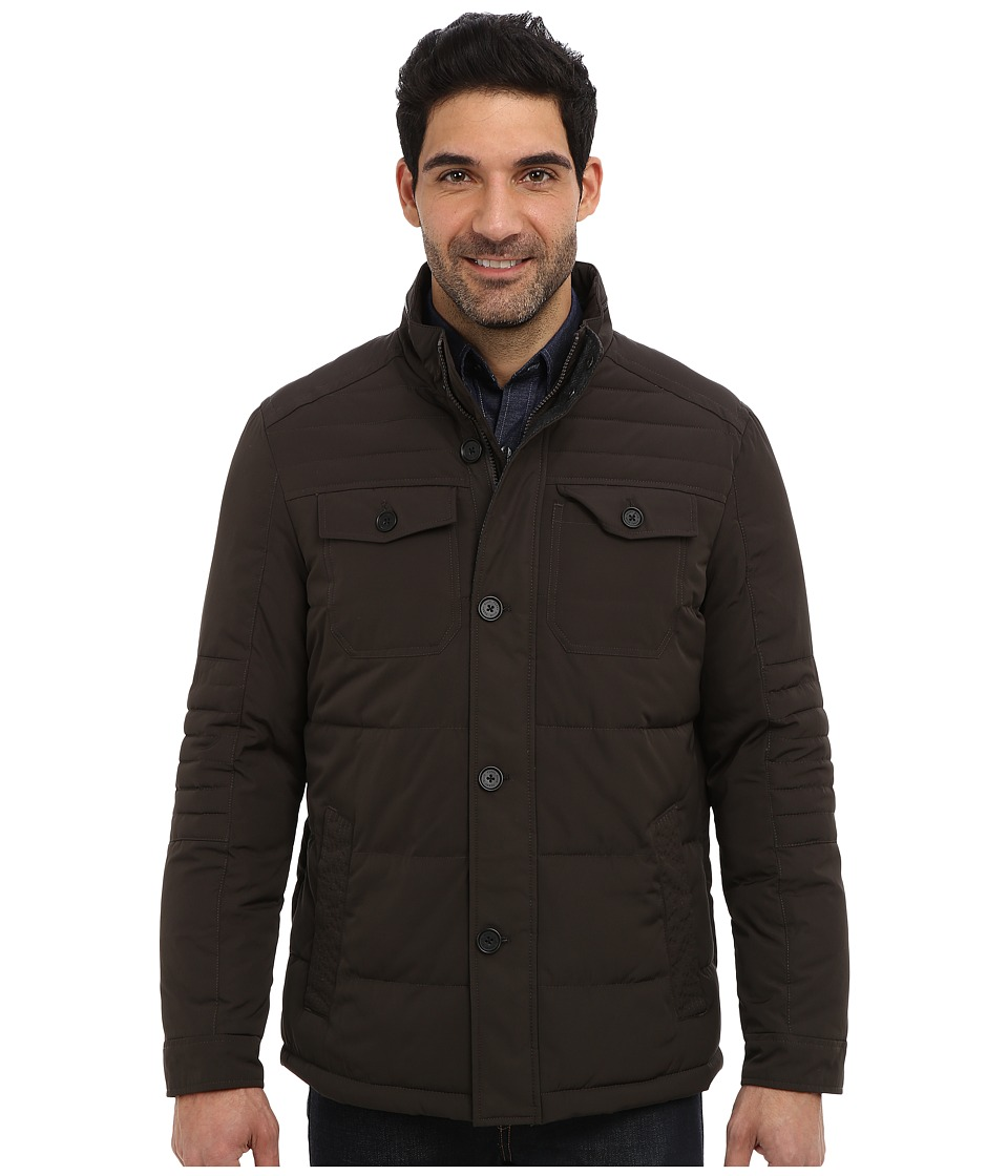 Perry Ellis - Quilted Four Pocket Jacket EP822679 (Brolive) Men's Coat