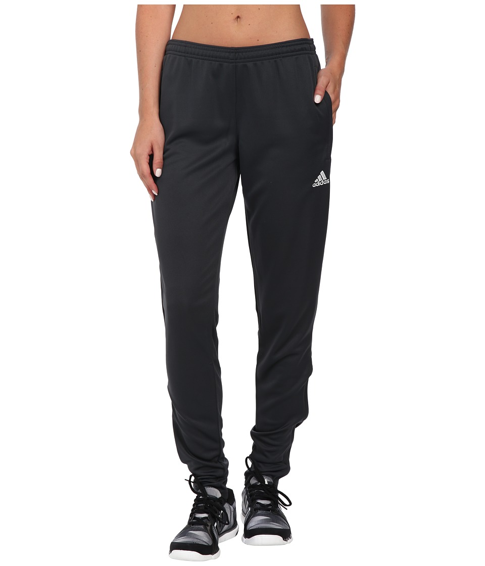 adidas - Core 15 Training Pant (Dark Grey/White) Women's Workout