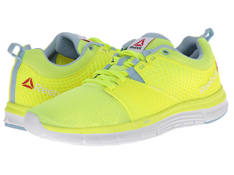 Reebok - ZQuick Dash (Solar Yellow/Denim Glow/White) Women