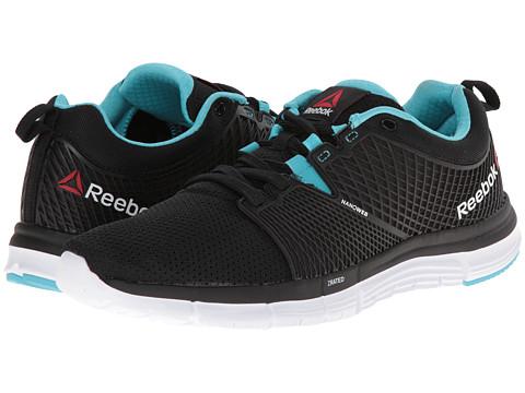 Reebok - ZQuick Dash (Black/Blue Pool/White) Women