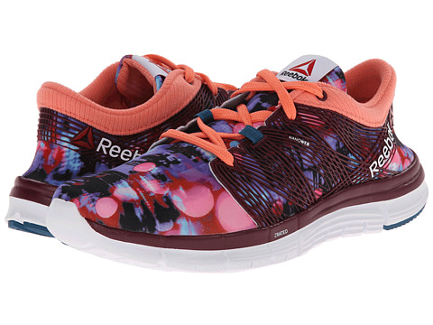 Reebok - ZQuick Goddess 2.0 (Wow Print - Rustic Wine/Bing Cherry/Botanical Blue/White/Coral) Women