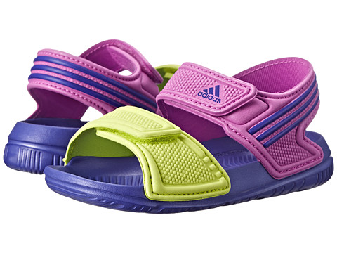 adidas Kids - Akwah 9 I (Infant/Toddler) (Flash Pink/Light Orchid/Night Flash) Girls Shoes