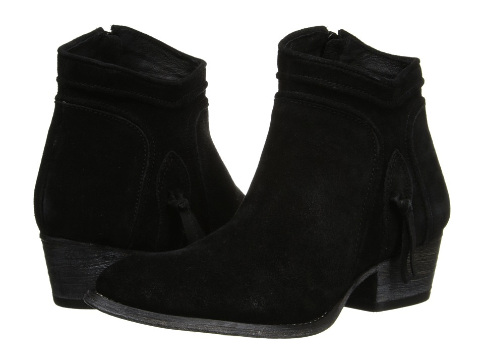Rebels - Cheyene (Black Suede Leather) Women