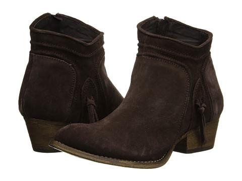 Rebels - Cheyene (Dark Brown Suede Leather) Women