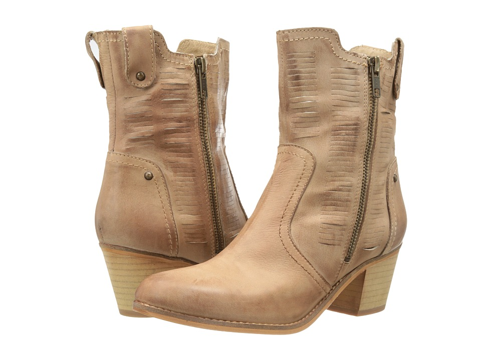 Rebels - Twist (Sand Leather) Women's Zip Boots