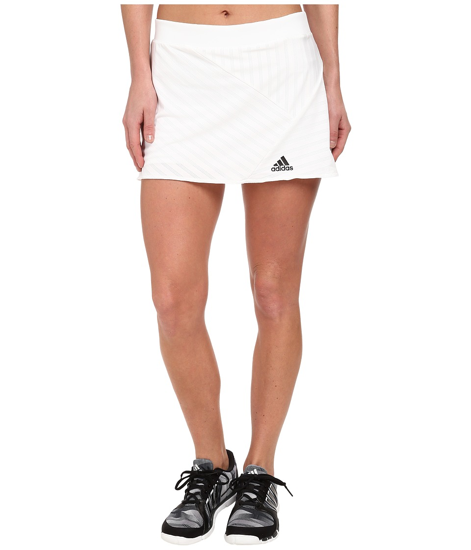 adidas - Tennis Sequencials Skort (White/Black) Women's Skort