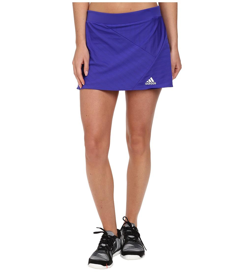 adidas - Tennis Sequencials Skort (Night Flash/White) Women's Skort