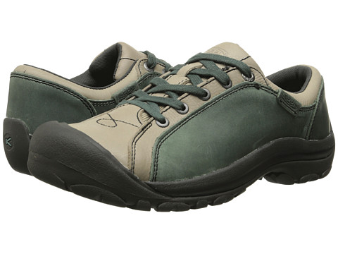 Keen - Briggs Leather (Mineral Blue) Women's Lace up casual Shoes