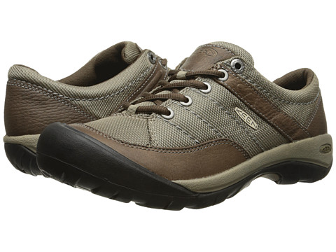 Keen - Presidio Sport Mesh (Cascade Brown) Women's Lace up casual Shoes