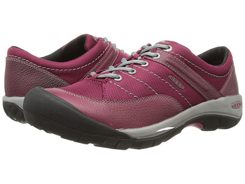 Keen - Presidio Sport Mesh (Beet Red) Women's Lace up casual Shoes