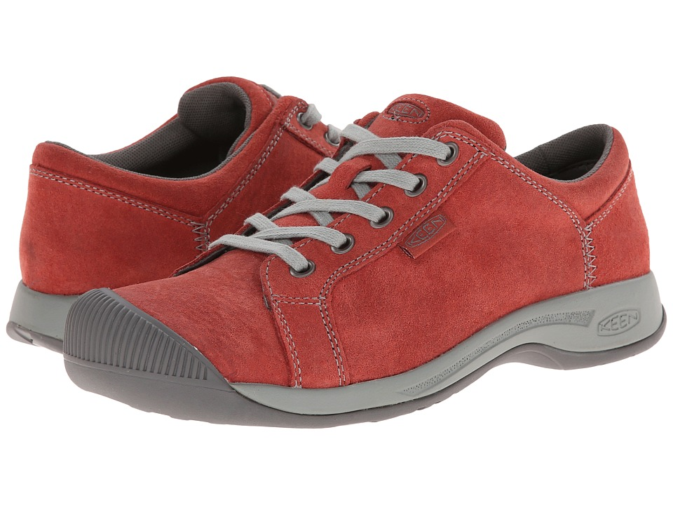 Keen - Reisen Lace (Red Dahlia) Women's Lace up casual Shoes