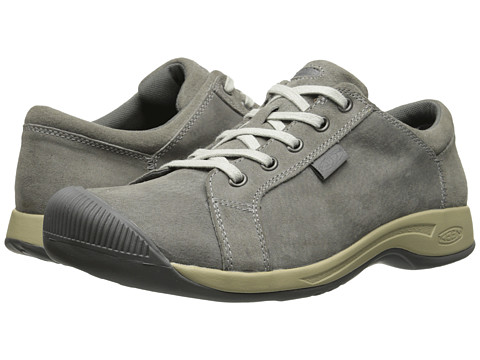 Keen - Reisen Lace (Neutral Gray) Women's Lace up casual Shoes