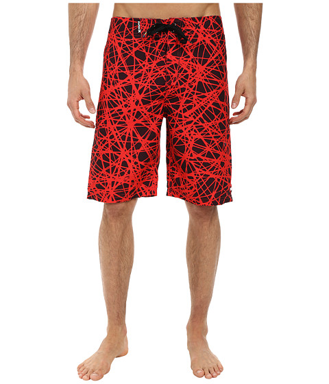 Hurley - Force Core Boardshort (Daring Red) Men's Swimwear