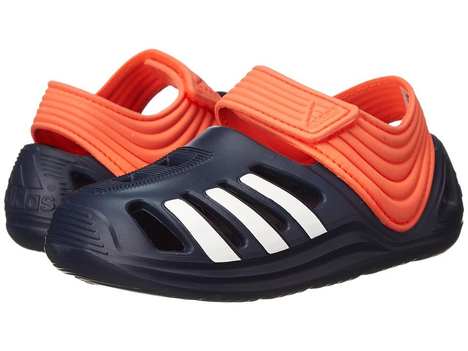 adidas Kids - Zsandal I (Infant/Toddler) (Collegiate Navy/White/Solar Red) Boys Shoes