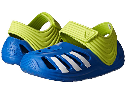 adidas Kids - Zsandal I (Infant/Toddler) (Lucky Blue/White/Semi Solar Yellow) Boys Shoes