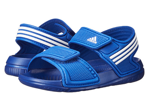 adidas Kids - Akwah 9 I (Infant/Toddler) (Collegiate Royal/White/White) Boys Shoes