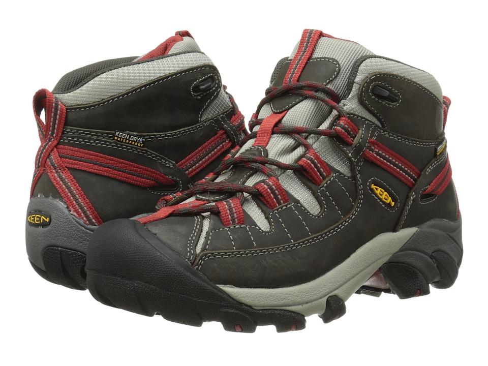 Keen - Targhee II Mid (Raven/Bossa Nova) Women's Hiking Boots