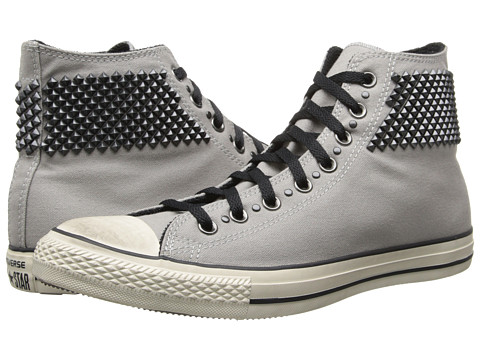 Converse - Chuck Taylor Hi (Grey) Lace Up Cap Toe Shoes