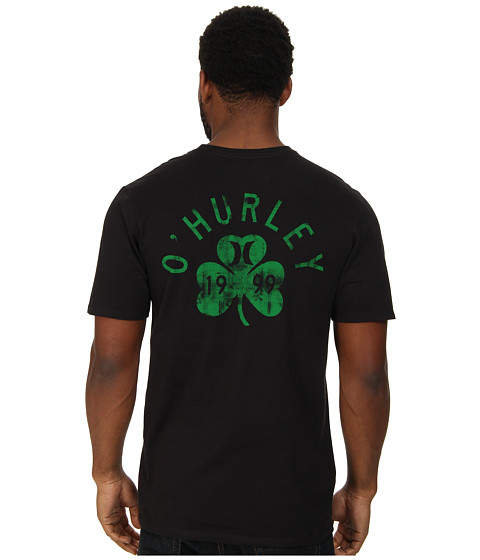 Hurley - Irish Luck Tee (Black) Men