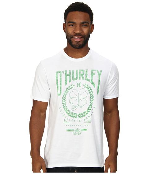 Hurley - Irish Luck Tee (White) Men's T Shirt