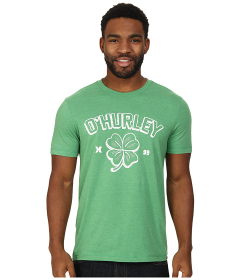 Hurley - Irish Luck Tee (Heather Kelly) Men