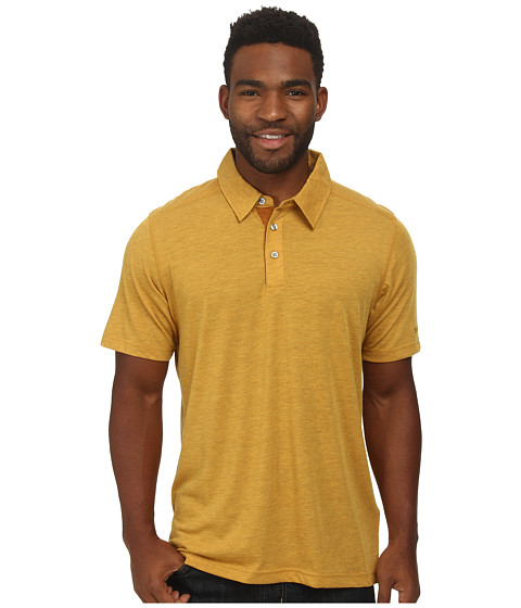 Marmot - Wallace Polo (Mustard Yellow) Men's Short Sleeve Pullover