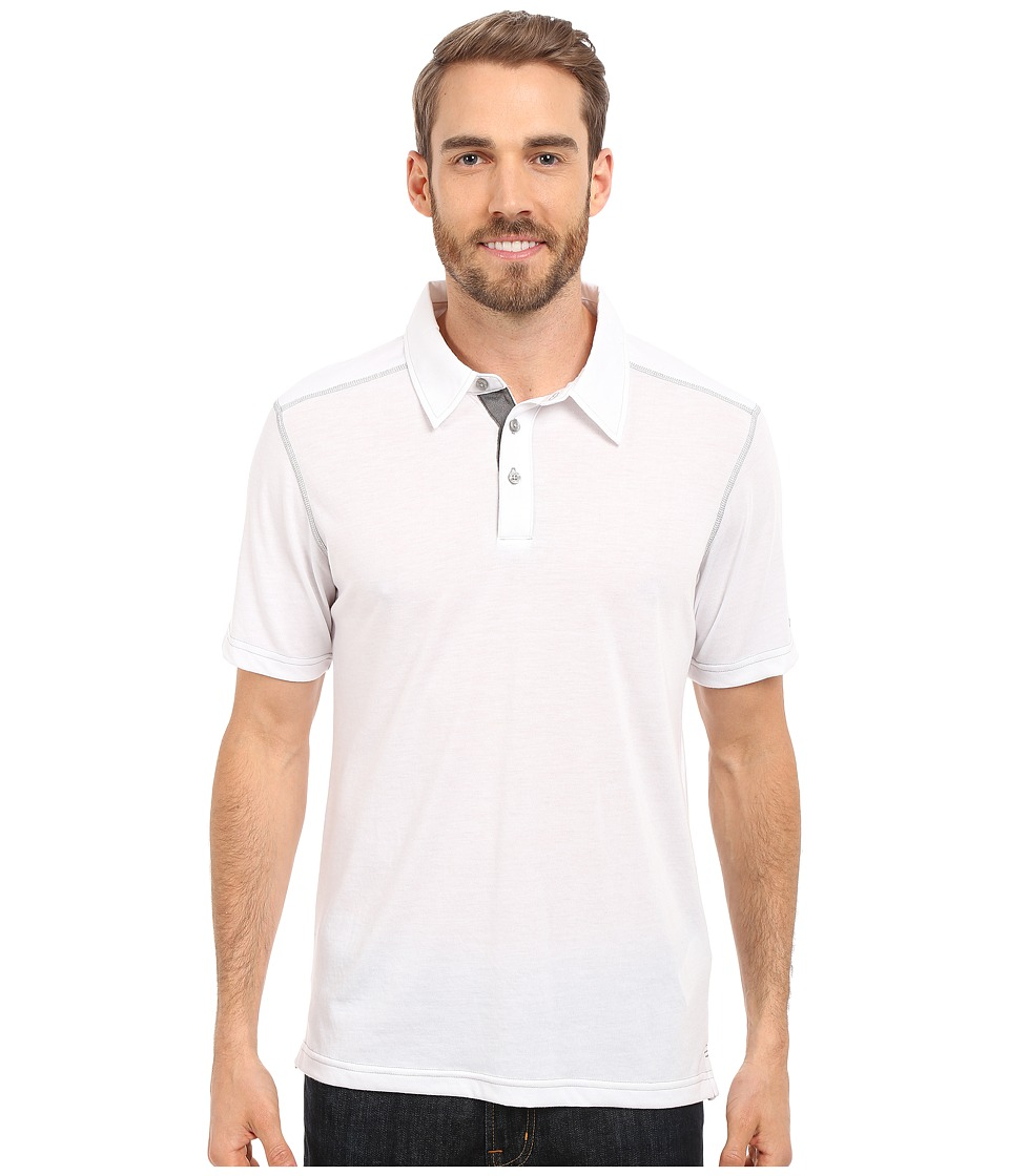 Marmot - Wallace Polo (White) Men's Short Sleeve Pullover