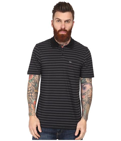Hurley - Dri-Fit Stitches Polo (Black) Men