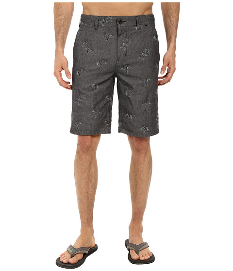 Hurley - Sig Zane Chambray Walkshort (Black) Men