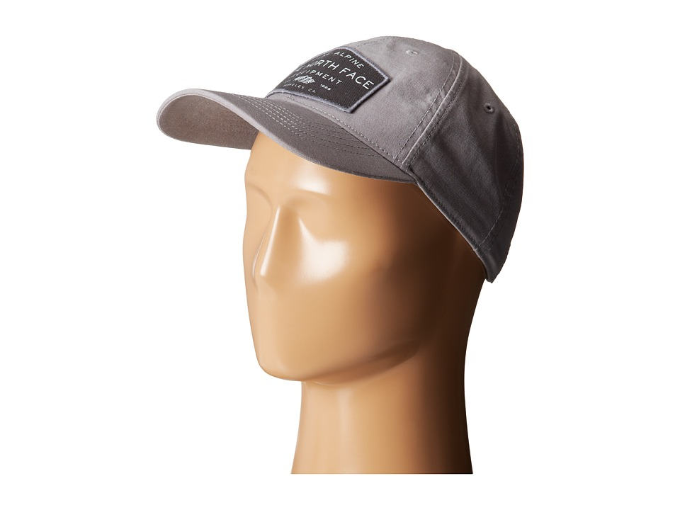 The North Face - Canvas Work Ball Cap (Pache Grey/Graphite Grey) Baseball Caps