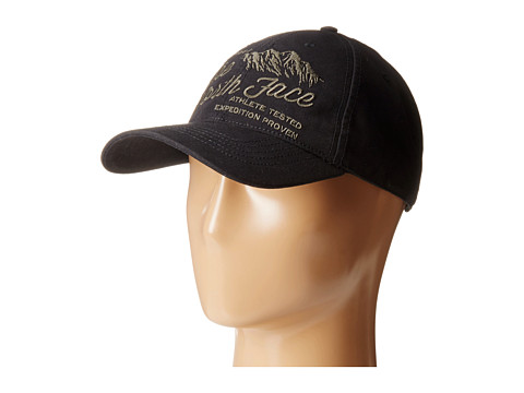 The North Face - Canvas Work Ball Cap (TNF Black/Black Ink Green) Baseball Caps