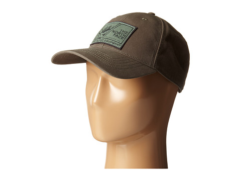 The North Face - Canvas Work Ball Cap (Black Ink Green/Laurel Wreath Green) Baseball Caps