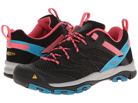 Keen - Marshall (Black/Honeysuckle) Women's Hiking Boots