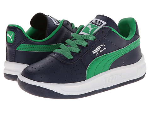 Puma Kids - GV Special (Toddler/Little Kid/Big Kid) (Peacoat/Fern Green) Boys Shoes