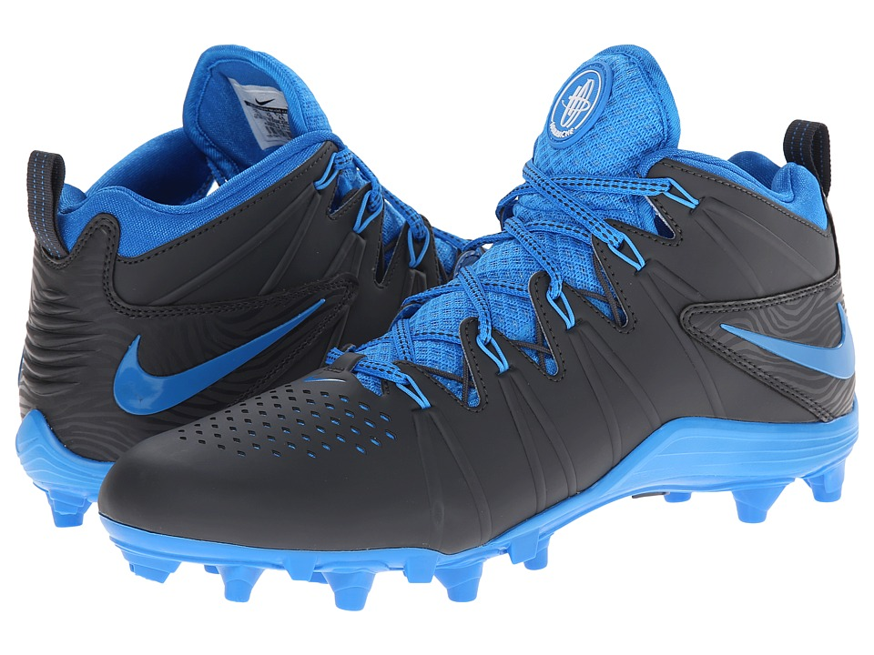 Nike - Huarache 4 Lax (Anthracite/Photo Blue) Men