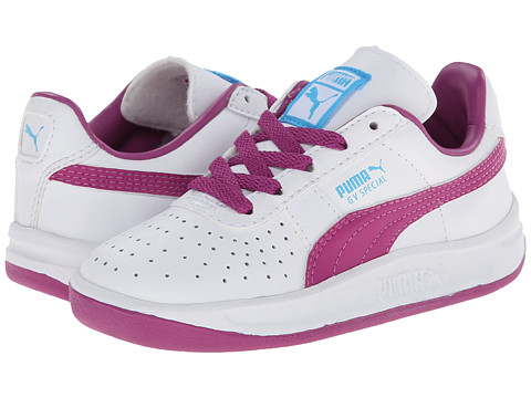 Puma Kids - GV Special (Toddler/Little Kid/Big Kid) (White/Vivid Viola/Blue Atoll) Girls Shoes