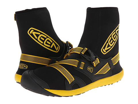 Keen - Gorgeous (Black/Yellow) Men's Waterproof Boots