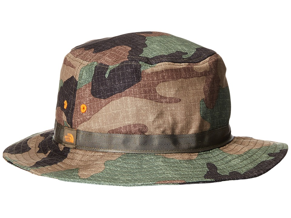 The North Face - Canyon Explorer Hat (New Taupe Green Woodland Camo) Traditional Hats