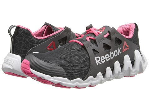 Reebok - ZigTech Big N Fast (City Lite - Black/Blazing Pink/Silver/Steel) Women's Shoes