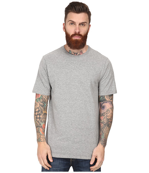 Hurley - Staple Crew (Dark Heather Grey) Men's Short Sleeve Pullover