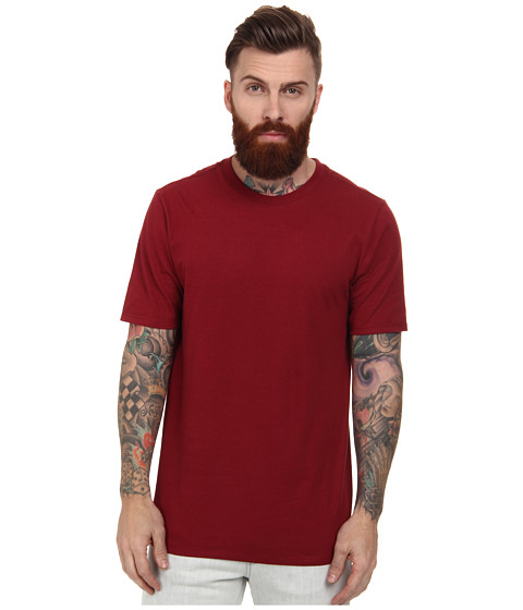 Hurley - Staple Crew (Team Red) Men's Short Sleeve Pullover