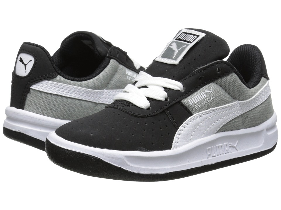 Puma Kids - GV Special CVS (Toddler/Little Kid) (Black/Limestone Grey/White) Boys Shoes